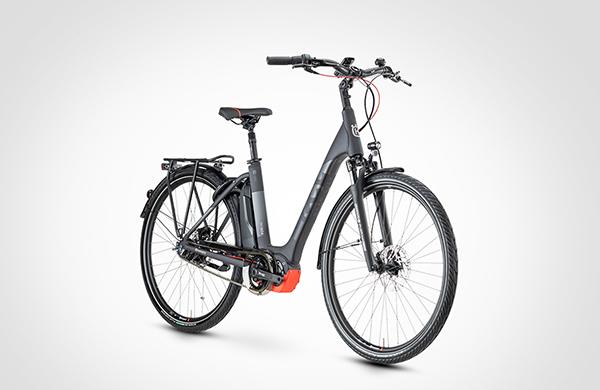 Elektro-Fahrrad mieten. Für Damen